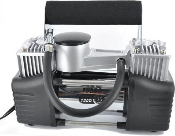 Компрессор автомобильный Turbo AVS KS 750 D 300Вт 12В 30А 75л/мин 10Атм пылесос avs turbo pa 1020 a80860s