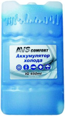 Аккумулятор холода AVS IG-450 450мл пластик avs cd605d 43210