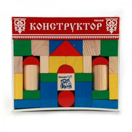 Конструктор Томик Цветной конструктор 43 элемента