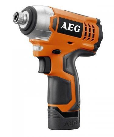Аккум.гайковерт уд. AEG BSS 12C Li-202C 12В 2x2.0Ач LiION 0-2400об/мин 0-3000уд/мин 107Нм в кейсе аккумуляторный гайковерт aeg bss 12c li 202c 443965