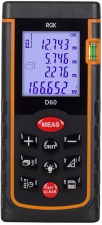 Дальномер Rgk D60 60 м дальномер rgk d50