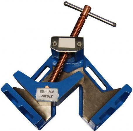 Струбцина BLACKSMITH  WA1-100  тиски 90° 60х90мм 100мм (Blacksmith) Кестеньга где купить инструменты