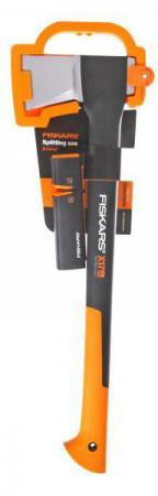 Топор-колун FISKARS Х17-M 129050 65х21х3см 1.57кг+точилка Xsharp