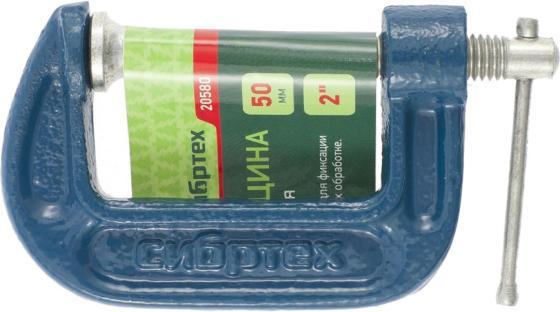 Струбцина СИБРТЕХ 20580 g-образная 50мм струбцина сибртех 20580 g образная 50мм