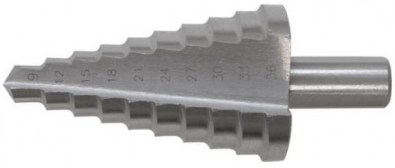 Сверло по металлу КУРС 36402 ступенчатое HSS 9 ступеней 4-20мм сверло курс 36087