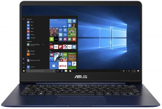 Ноутбук ASUS Zenbook UX430UA-GV452R 14 1920x1080 Intel Core i7-8550U 256 Gb 8Gb Intel UHD Graphics 620 синий Windows 10 Professional 90NB0EC5-M12150 ноутбук asus rog gl502vt fy010t 15 6 1920x1080 intel core i7 6700hq 90nb0ap1 m02120