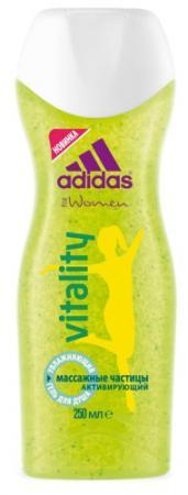 Гель для душа ADIDAS Vitality 250 мл adidas гель для душа муж pure game 250 мл гель для душа муж pure game 250 мл 250 мл
