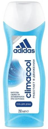 Гель для душа ADIDAS Climacool 250 мл adidas гель для душа муж pure game 250 мл гель для душа муж pure game 250 мл 250 мл