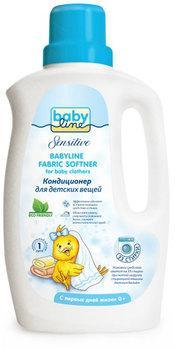 BABYLINE Sensitive Кондиционер для стирки детских вещей 1л детские моющие средства frau schmidt ocean baby гипоаллергенный кондиционер для стирки детских вещей 1000 мл