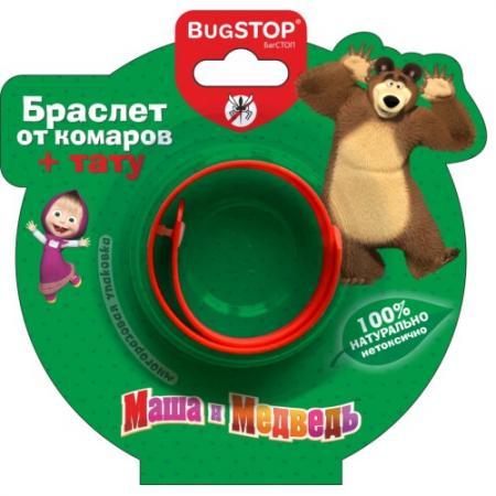 BugSTOP Браслет от комаров Маша и Медведь браслет от комаров bugslock из кореи