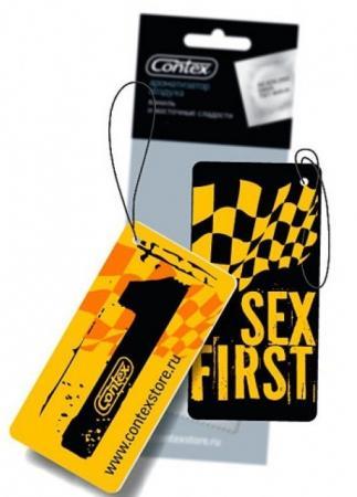Автомобильный ароматизатор Sex First: Прохлада ночного сада 3062369