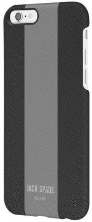 Накладка Jack Spade Snap Case для iPhone 7 iPhone 8 серый чёрный JSIPH-024-BLMG diy 12v 8 x aa battery holder case box with leads switch dc jack black