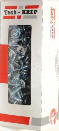 Саморез ТЕХ-КРЕП 102143 шсмм 4.2х38 (200шт) коробка с ок. саморез tech krep 102170 ы универсальные 25х3 5мм 200шт оцинкованные коробка с ок tech kr