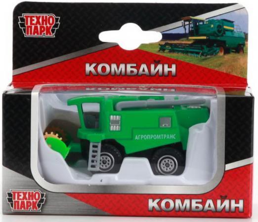 Комбайн Технопарк Комбайн зеленый в ассортименте цена и фото
