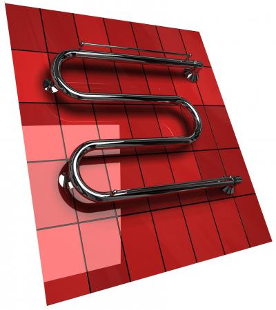 Полотенцесушитель Двин M10 М-образный высота 600 мм, ширина 800 мм, диаметр 1