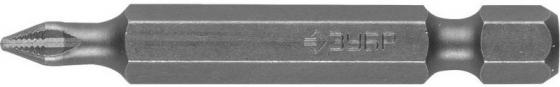 Бита ЗУБР МАСТЕР 26001-1-50-2 кованая CrMo E 1/4 PH1 50мм 2шт бита зубр эксперт 26011 1 50 2 торсион кованая обточ crmo e 1 4 ph1 50мм 2шт