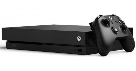 Игровая консоль Xbox One X с 1 ТБ памяти игровая консоль microsoft xbox one s с 1 тб памяти абонемент xbox game pass сроком на 3мес и золотой статус xbox live gold на 3мес 234 00357 белый
