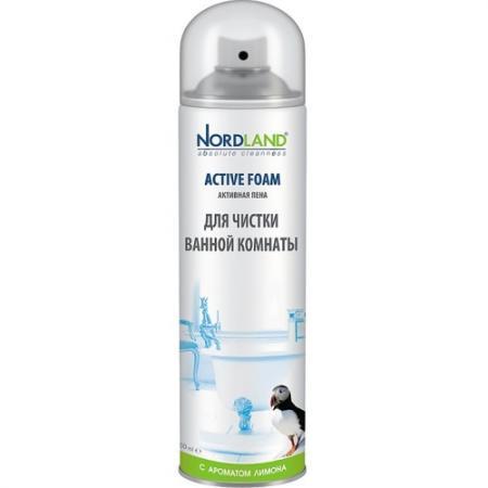 NORDLAND Пена для чистки ванной комнаты Лимон 600мл пена для чистки ванной комнаты nordland с ароматом морской свежести 600 мл 600054