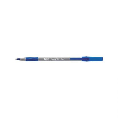 Ручка шариковая BIC ROUND STIC EXACT синий 0.7 мм коробка 20 штук 918543 bic ручка шариковая kids twist цвет корпуса синий