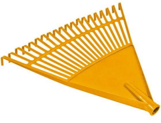 Грабли КУРС 76301 веерные пластинчатые пластиковые 22зуба