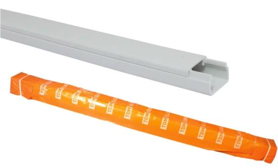 Кабель-канал TDM SQ0402-0003 20х10 белый 2500mm linear guide rail hgr15 hiwin from taiwan