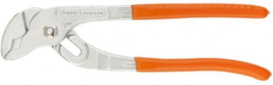 Клещи SPARTA 157185 250мм переставные рукоятки ПВХ набор губцевого инструмента sparta 2 13545 3 предмета плоскогубцы бокорезы клещи переставные