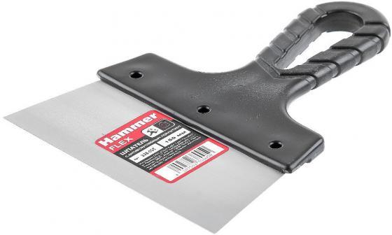 Шпатель фасадный Hammer Flex 238-005 с антикор. покр. 150 мм шпатель фасадный вороненая сталь 150 мм