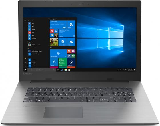 "Ноутбук Lenovo IdeaPad 330-17IKB 17.3"" 1600x900 Intel Pentium-4415U 500 Gb 4Gb Intel HD Graphics 610 черный DOS 81DK000ERU"