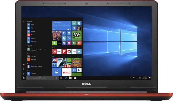 Ноутбук Dell Vostro 3568 Core i3 6006U/4Gb/1Tb/DVD-RW/AMD Radeon R5 M420X 2Gb/15.6/HD (1366x768)/Windows 10 Home Single Language 64/red/WiFi/BT/Cam/2750mAh ноутбук dell vostro 3568