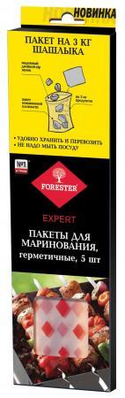 FORESTER Набор zip-пакетов для маринования и хранения 40х28 см 5шт