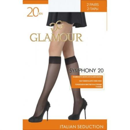 GLAMOUR Гольфы Symphony 20 daino other glamour 90