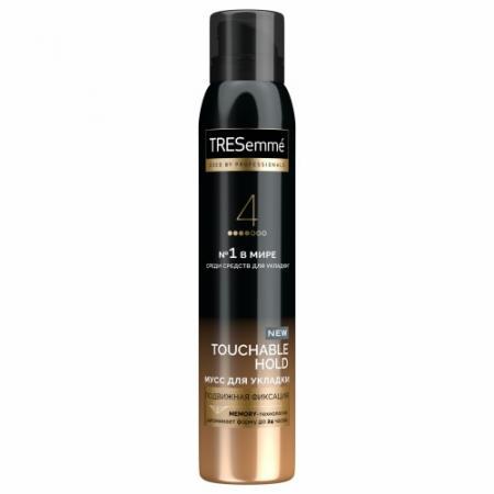Tresemme мусс для укладки волос средняя фиксация 200 мл color wow мусс для укладки волос нейтрализатор желтого оттенка для блондинок 200 мл