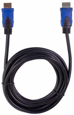 Кабель HDMI 3м Ritmix RCC-353 круглый черный