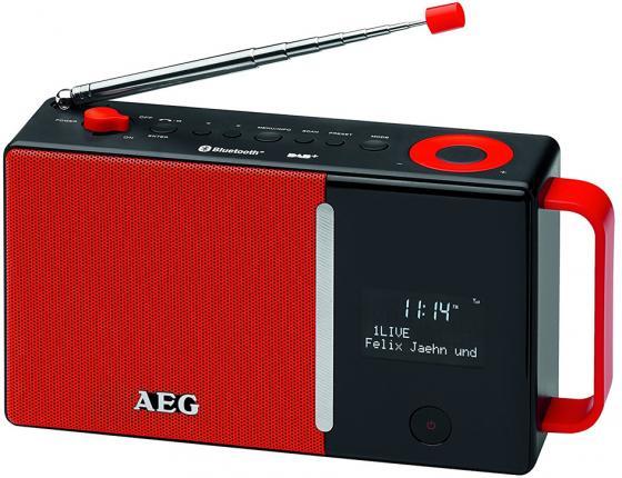 Радиоприемник AEG DAB 4158 rot DAB+ растение открытого грунта можжевельник китайский стрикта 5л