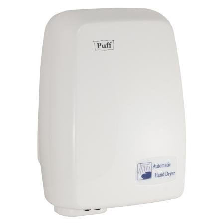 Электросушитель для рук PUFF 120 1.2кВт белый ABS пластик