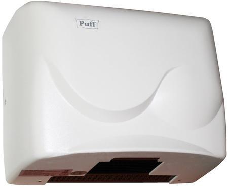 Электросушитель для рук PUFF 8823 1.5кВт белый ABS пластик