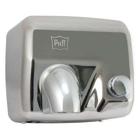Электросушитель для рук PUFF 8844 2.3кВт хром с кнопкой включения