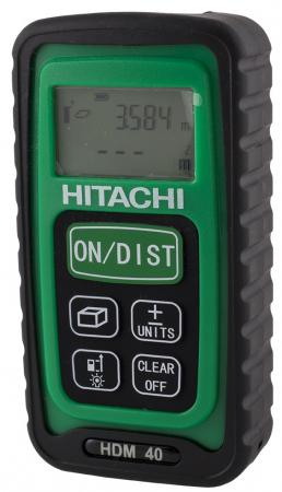 Дальномер Hitachi HDM40 40 м hitachi ds12dvfa