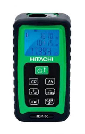 Дальномер Hitachi HDM80 80 м hitachi dh50mb