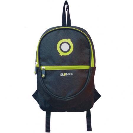 524-136 Рюкзак Globber для самокатов Junior Black/Lime Green globber globber рюкзак для самокатов junior navy blue