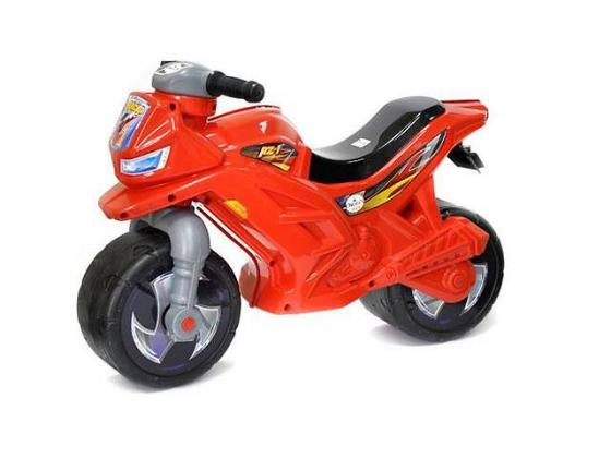 Каталка-мотоцикл RT Racer RZ 1 пластик от 18 месяцев на колесах красный каталка машинка технок мотоцикл гонки с педалями 4135 пластик от 3 лет на колесах черно красный