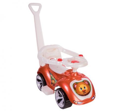 Каталка-машинка RT Мишка (LAPA) пластик от 10 месяцев на колесах бронза rt ор146в2 качалка каталка лошадка белая на колесах трансформер