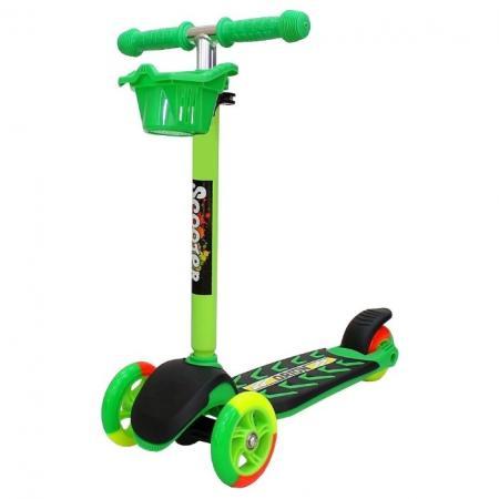 тюбинги r toys 118 см Самокат трехколёсный R-Toys Midi Orion 8 см/12 см зеленый 6864