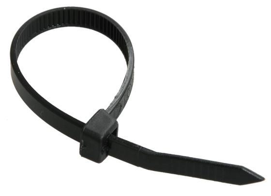 Хомуты для кабеля ИЭК 2,5х150 мм. нейлон черные (100шт) цена