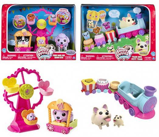 Игровой набор Chubby Puppies Паровозик/Колесо обозрения sarah hodgson puppies for dummies