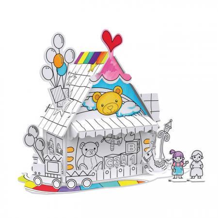 Пазл 3D CubicFun Игрушечный домик