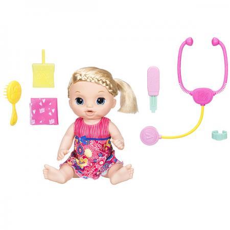 Игрушка кукла Малышка у врача hasbro кукла рапунцель принцессы дисней