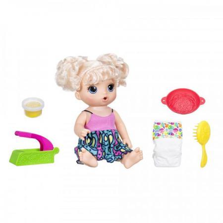 Игрушка кукла Малышка хочет есть цена