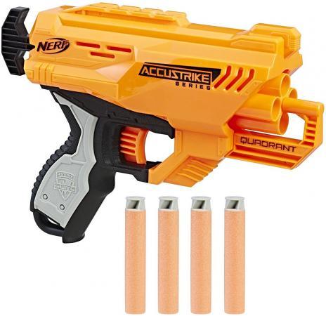 Бластер Hasbro НЁРФ: Элит желтый E0012 игрушка нёрф элит микрошот бластер в ас те