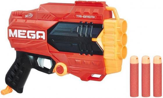 Бластер Hasbro НЕРФ: Мега оранжевый E0103